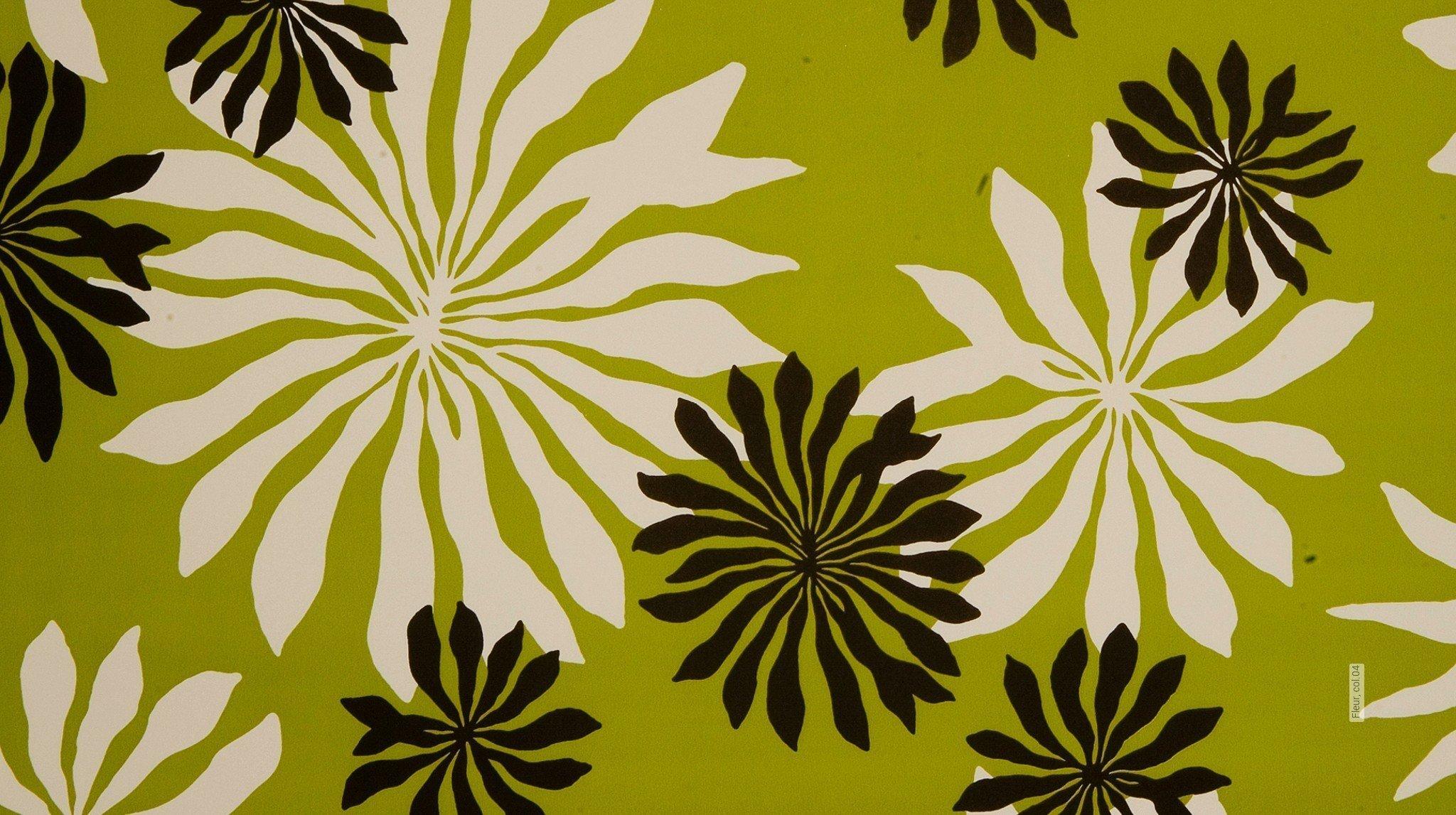 florale muster gr n tapeten lust auf was neues. Black Bedroom Furniture Sets. Home Design Ideas