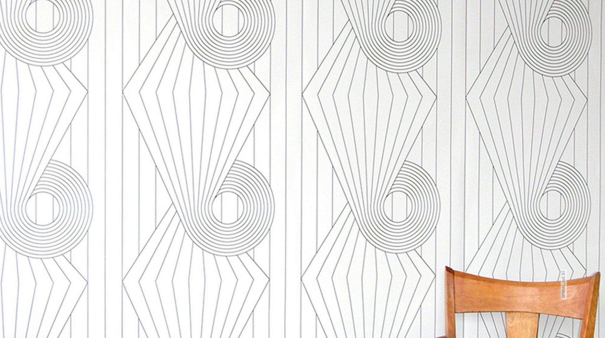 schwarz und wei tapeten lust auf was neues. Black Bedroom Furniture Sets. Home Design Ideas