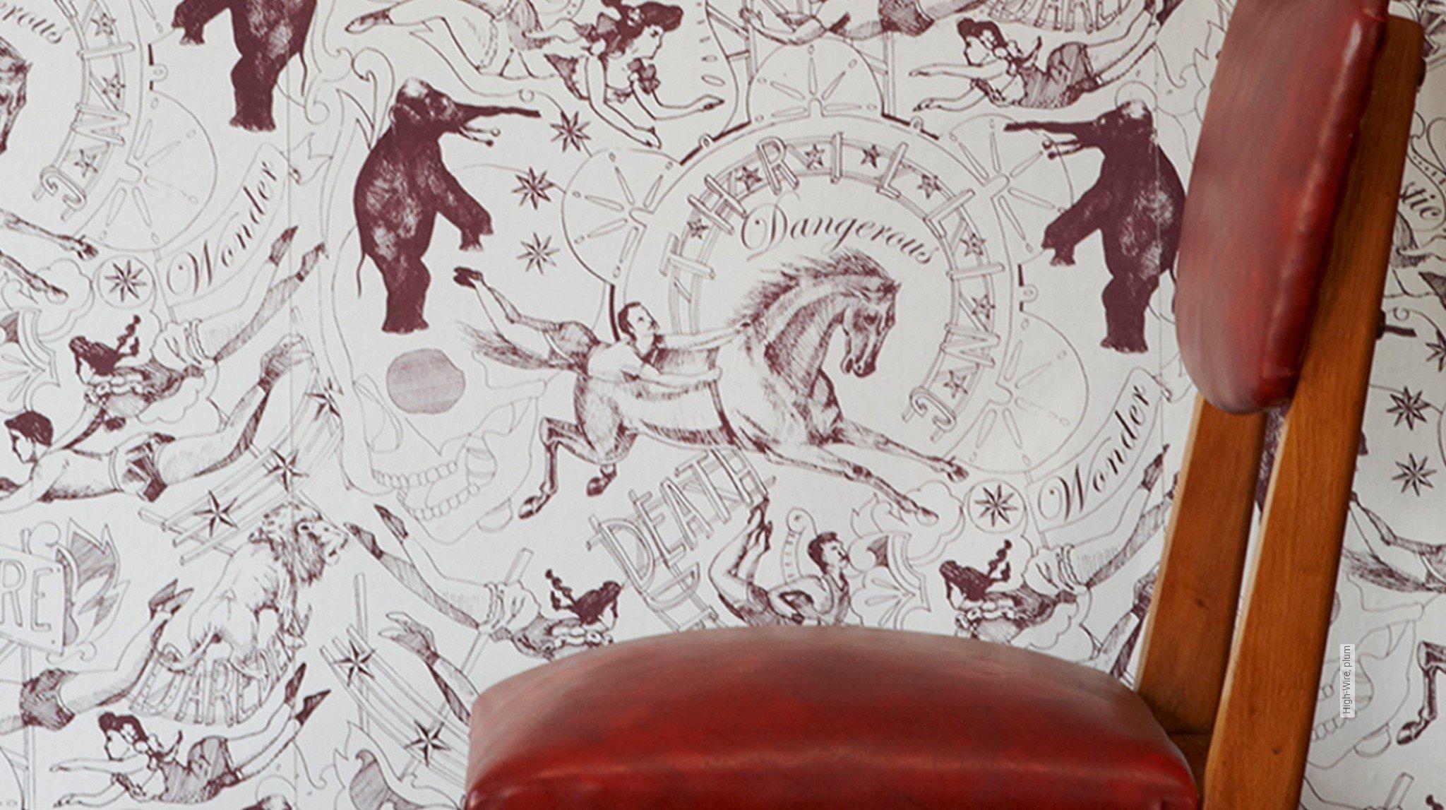 Weinrot tapeten mit dem besonderen die for Tapete weinrot