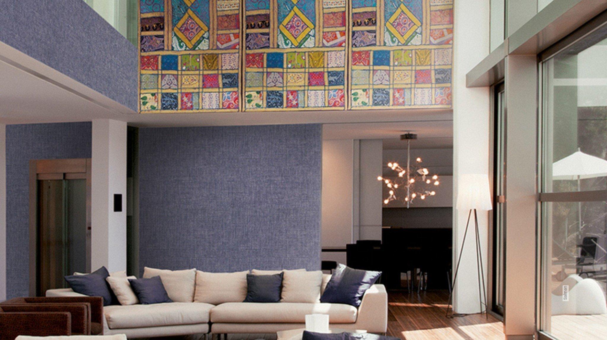 moderne muster ethno und folklore tapeten lust auf was neues. Black Bedroom Furniture Sets. Home Design Ideas