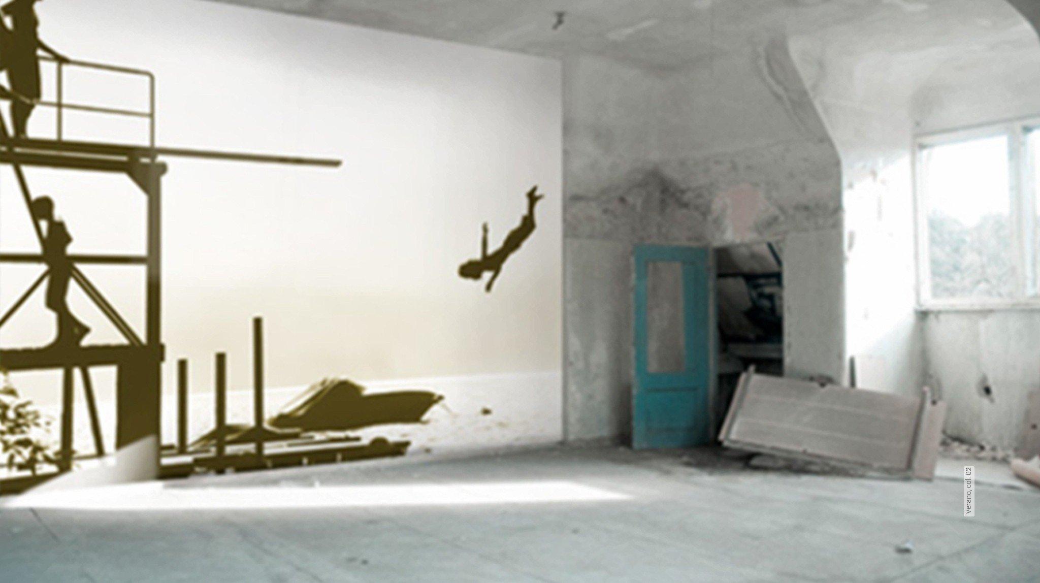 moderne muster strand tapeten lust auf was neues. Black Bedroom Furniture Sets. Home Design Ideas