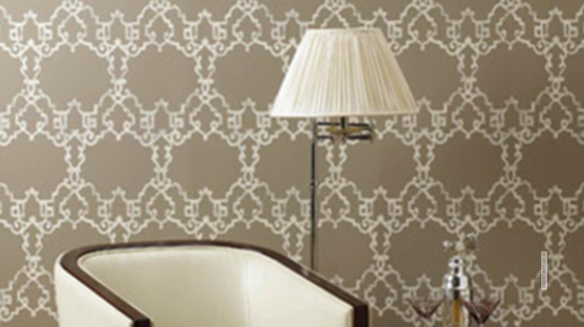 klassische muster orientalisch tapeten lust auf was neues. Black Bedroom Furniture Sets. Home Design Ideas