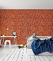 1080-Cadires,-col.05-Stuhl-Moderne-Muster-Orange-Anthrazit
