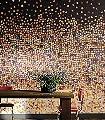A-Big-Splash-Stoff-Großmotiv-Schemen/Silhouetten-Moderne-Muster-FotoTapeten-Rot-Braun-Gelb-Orange-Schwarz
