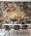 A-Priori-Figuren-Gebäude-Klassische-Muster-FotoTapeten-Multicolor