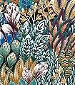 A-Vicennia,-col.-08-Blumen-Blätter-Florale-Muster-Multicolor