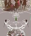 A-bash-or-do,-col.01-Tiere-Figuren-Moderne-Muster-Grau-Multicolor