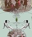 A-bash-or-do,-col.02-Tiere-Figuren-Moderne-Muster-Multicolor-mint