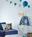 Aaron,-col.50-Stoff-Leder-Polster-3D-Tapeten-Moderne-Muster-Blau-Weiß