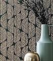 Abelia,-col.-6-Blätter-Florale-Muster-Gold-Braun-Schwarz-Creme