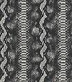 Abraham-Tierhaut-Moderne-Muster-Schwarz-Creme