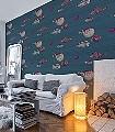 Acquario,-col.24-Tiere-Fische-Fauna-Moderne-Muster-Multicolor