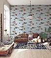 Acquario,-col.30-Tiere-Fische-Fauna-Moderne-Muster