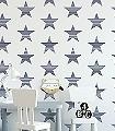Adrian,-col.06-Streifen-Sterne-KinderTapeten-Blau-Weiß