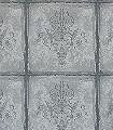 Albery--Ornamente-Panel-Klassische-Muster-Silber-Anthrazit-Schwarz