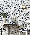 Aliza-Blumen-Schmetterlinge-Florale-Muster-Blau-Weiß-Hellbraun