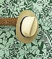 Aloha,-col.-6-Blätter-Vögel-Florale-Muster-Grün-Hellgrün