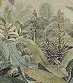 Amazonia-Blumen-Bäume-Blätter-Florale-Muster-FotoTapeten-Multicolor
