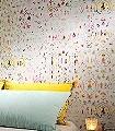 Aminta,-col.05-Blumen-Schemen/Silhouetten-Moderne-Muster-Gold-Grau-Türkis-Weiß-Pink