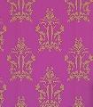 Anakreon,-fuchsia-gold-Ornamente-Figuren-Klassische-Muster-Art-Deco-Gold-Pink