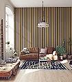 Anakreon-Stripes,-brown-gold-Streifen-Blockstreifen-Klassische-Muster-Art-Deco-Gold-Braun
