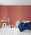 Anakreon-Stripes,-darkmagenta-gold-Streifen-Blockstreifen-Klassische-Muster-Art-Deco-Gold