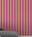 Anakreon-Stripes,-fuchsia-gold-Streifen-Blockstreifen-Gold-Pink