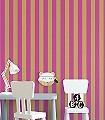 Anakreon-Stripes,-fuchsia-gold-Streifen-Blockstreifen-Klassische-Muster-Art-Deco-Gold-Pink