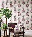 Ananas,-col.-1-Blumen-Obst-Florale-Muster-Multicolor