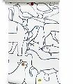 Animals-Tiere-Figuren-Schemen/Silhouetten-Zeichnungen-Fauna-Moderne-Muster