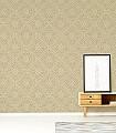 Annelly,-col.01-Kreise-Blätter-Orientalisch-Gold-Weiß
