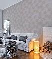 Aperto,-col.03-Blätter-Florale-Muster-Grau-Bronze-Weiß-Perlmutt