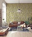 Arance,-col.-8-Früchte-Florale-Muster-Moderne-Muster-Gelb-Schwarz-Weiß-Hellblau