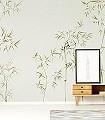 Arashiyama,-col.-6-Blätter-Florale-Muster-Grün-Creme