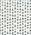 Arbeitsfahrzeuge-Tapete-Fahrzeuge-FotoTapeten-KinderTapeten-Weiß-Multicolor