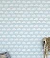Ariel,-col.70-Wolken-KinderTapeten-Weiß-Perlmutt-Hellblau