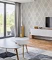 Arnika-Ornamente-Rauten-Klassische-Muster-Grau-Weiß-Creme