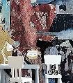 Art-Work-Ink-Collage-FotoTapeten-Pop-Art-Multicolor