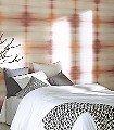 Asteria-Mango-Blumen-Quadrate/Rechtecke-Leder-Farbverlauf-Moderne-Muster-Rot-Creme-Ocker