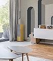 Attol--Gebäude-Moderne-Muster-FotoTapeten-Grün-Creme