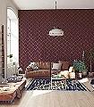 Ava,-col.-31-Rauten-Grafische-Muster-Art-Deco-Gold-Braun-weinrot