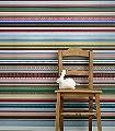 Bändeltapete-Streifen-Moderne-Muster-Multicolor