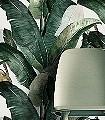 BALO,-col.-01-Blätter-Florale-Muster-FotoTapeten-Grün-Creme