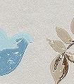 BIRDCAGE-WALK,-col.01-Vögel-Vogelkäfig-Ranken-Fauna-Florale-Muster-Blau-Weiß-Creme
