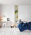 Bahn-F(04)-Früchte-Moderne-Muster-Creme-limette