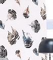 Bambalina,-col.05-Federn-Moderne-Muster-FotoTapeten-Grau-Schwarz-Weiß-Ocker-petrol