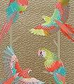 Basilius,-col.04-Vögel-Federn-Fauna-Gold-Multicolor