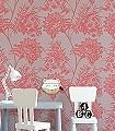 Bavero,-col.-6-Blumen-Blätter-Florale-Muster-Rot-Bronze