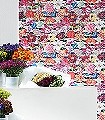 Belfiore-Blumen-Florale-Muster-Moderne-Muster-Weiß-Multicolor