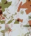 Belichtung,-col.-01-Formen-Moderne-Muster-Rot-Grün-Creme